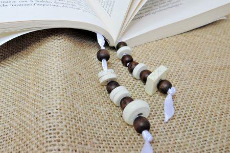 segnalibro di perle