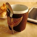 copri tazza in feltro