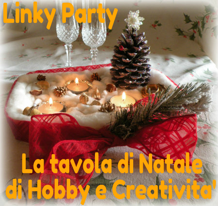 Linky party la tavola di natale