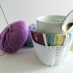 copri tazza in lana