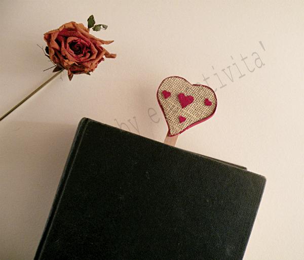 segnalibro a cuore 1