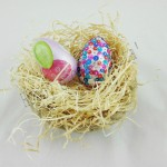 Uovo di Pasqua decoupage