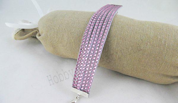braccialetto con swarovski