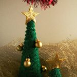 Albero di Natale all'uncinetto