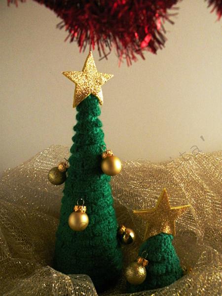 Albero Di Natale Alluncinetto Fai Da Te Hobby E Creatività