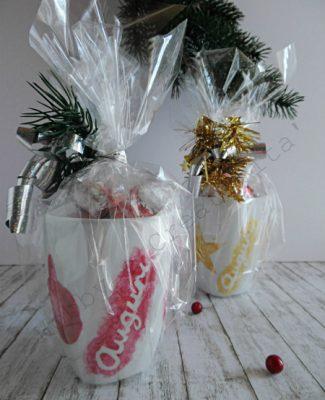 Tazza decorata di Natale