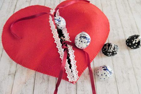 cuore porta cioccolatini