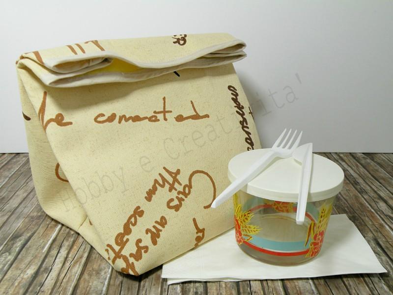 Porta pranzo fai da te
