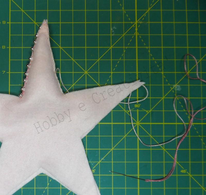 cucire una stella