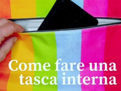 Come fare una tasca interna