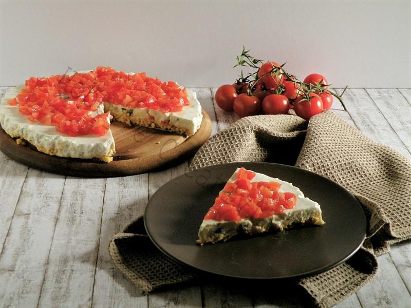 cheesecake salata alla greca