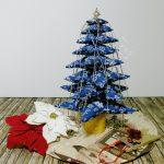 albero di natale di stoffa