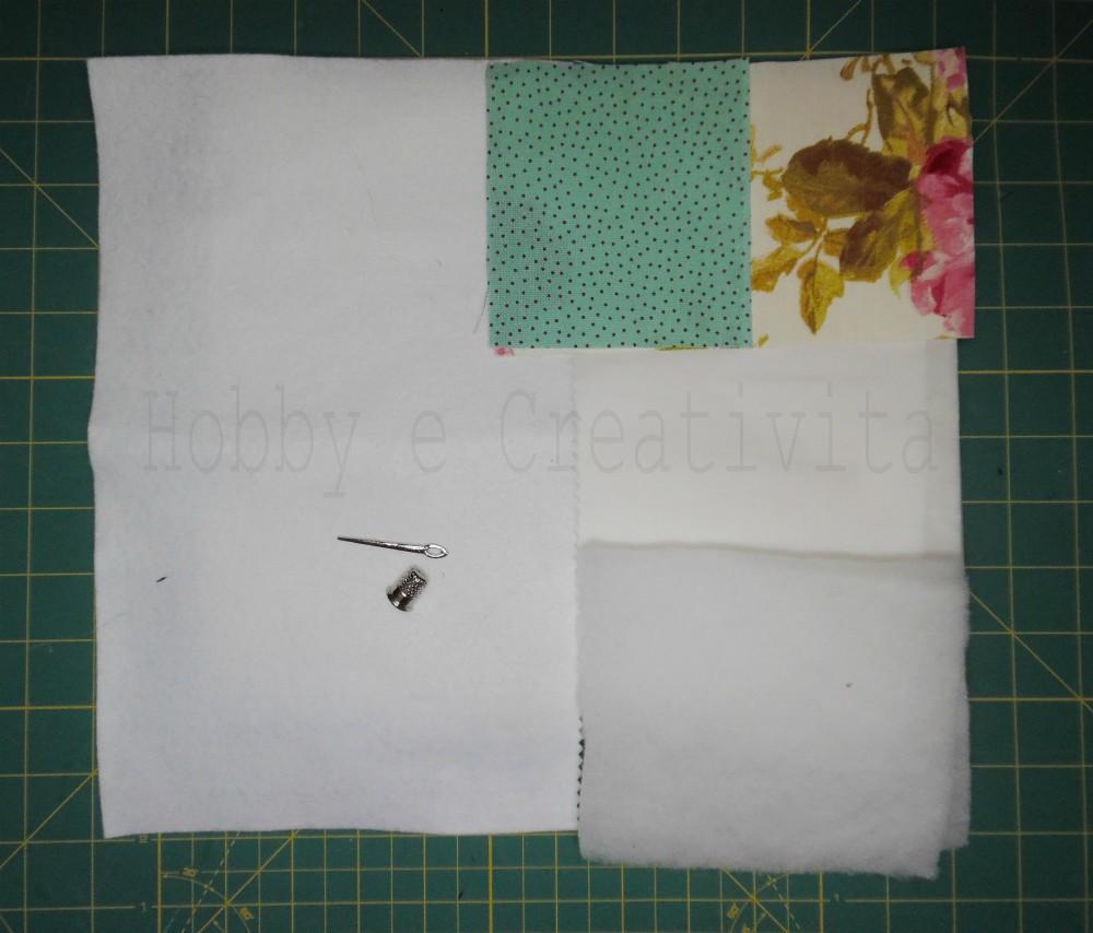 libretto porta aghi materiale