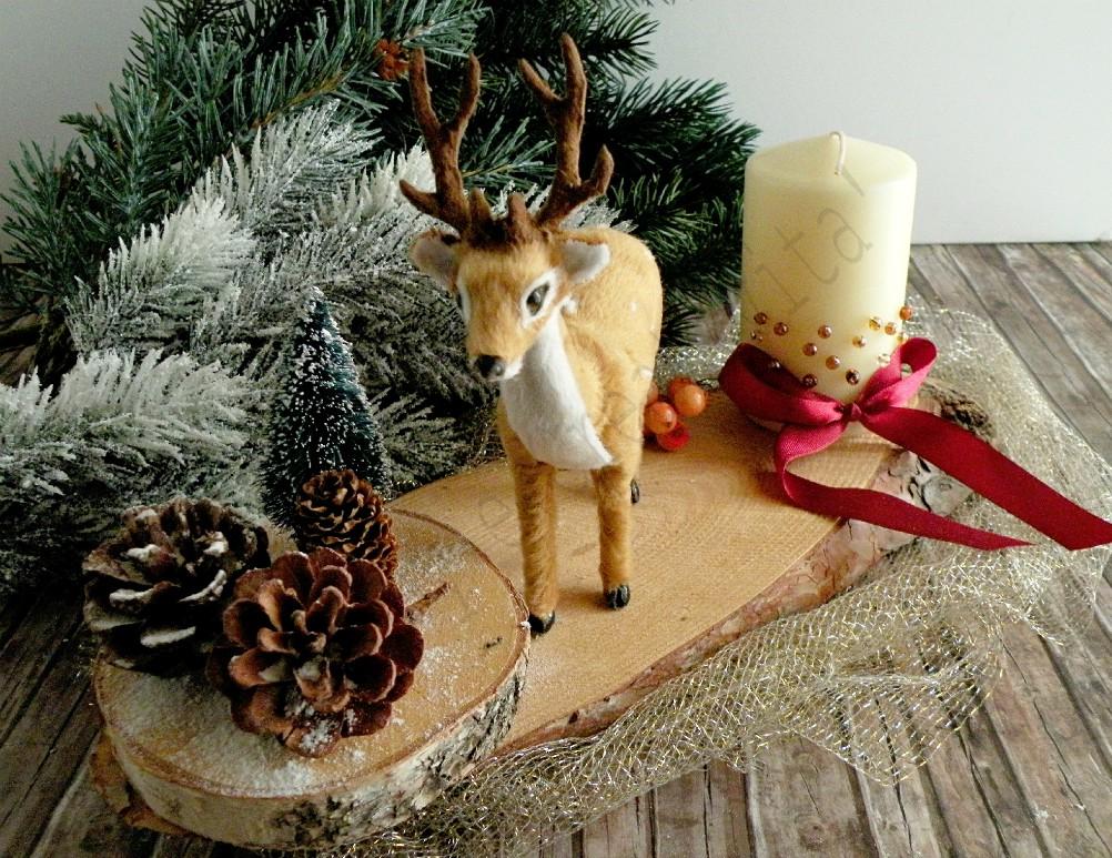 decorare le candele per natale 1