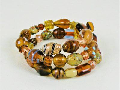 bracciale in perle veneziane