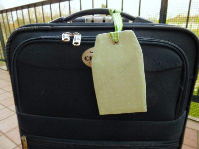 etichetta per bagaglio