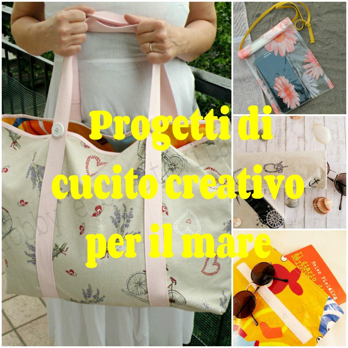 Progetti di cucito creativo hobby e creativit - Cucito creativo bagno ...
