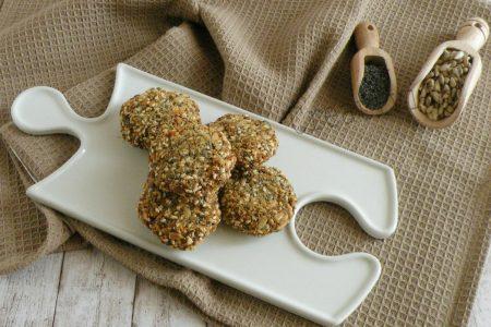 polpettine di patate ai semi