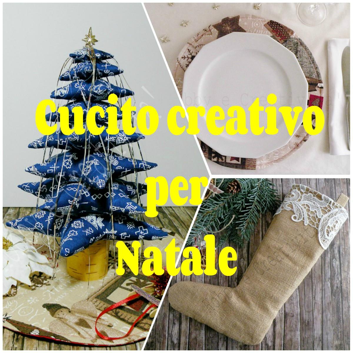 Cucito creativo per Natale - Idee - Hobby e Creatività