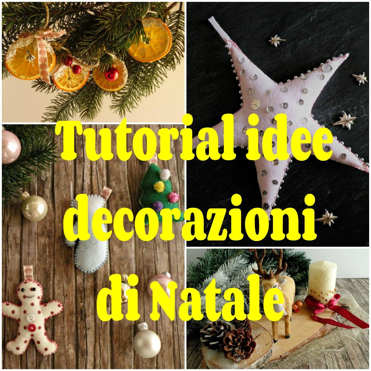 Idee Creative Per Natale idee per decorazioni di natale - hobby e creatività