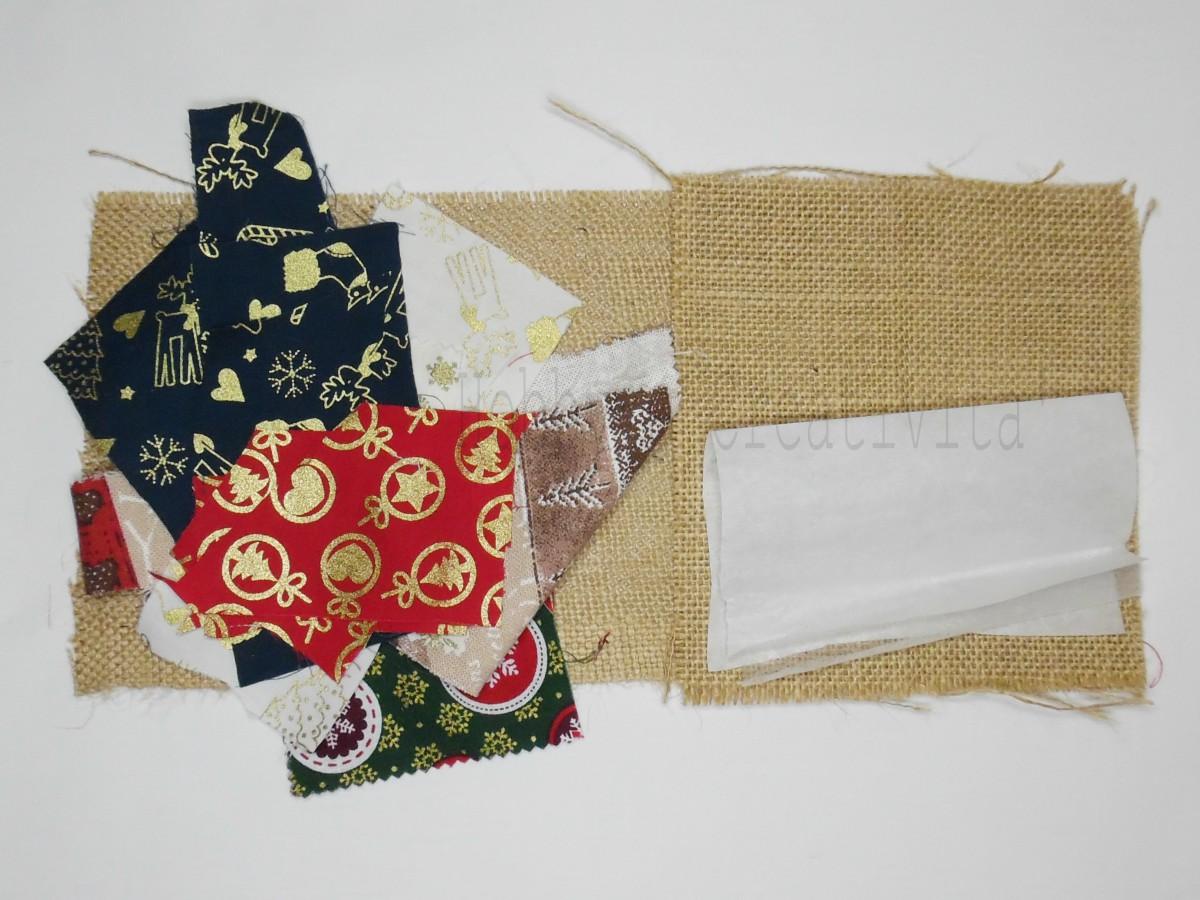 borsa della befana materiale