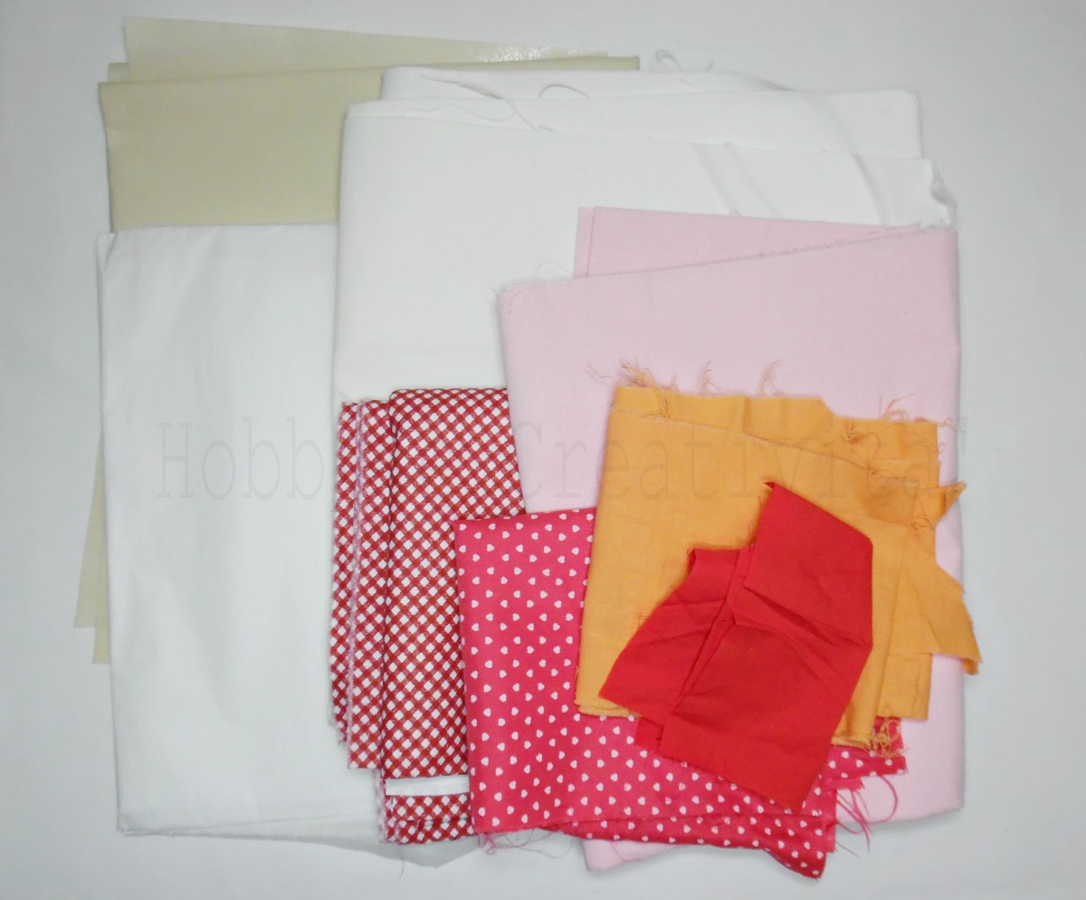 Cuscino con tasca materiale