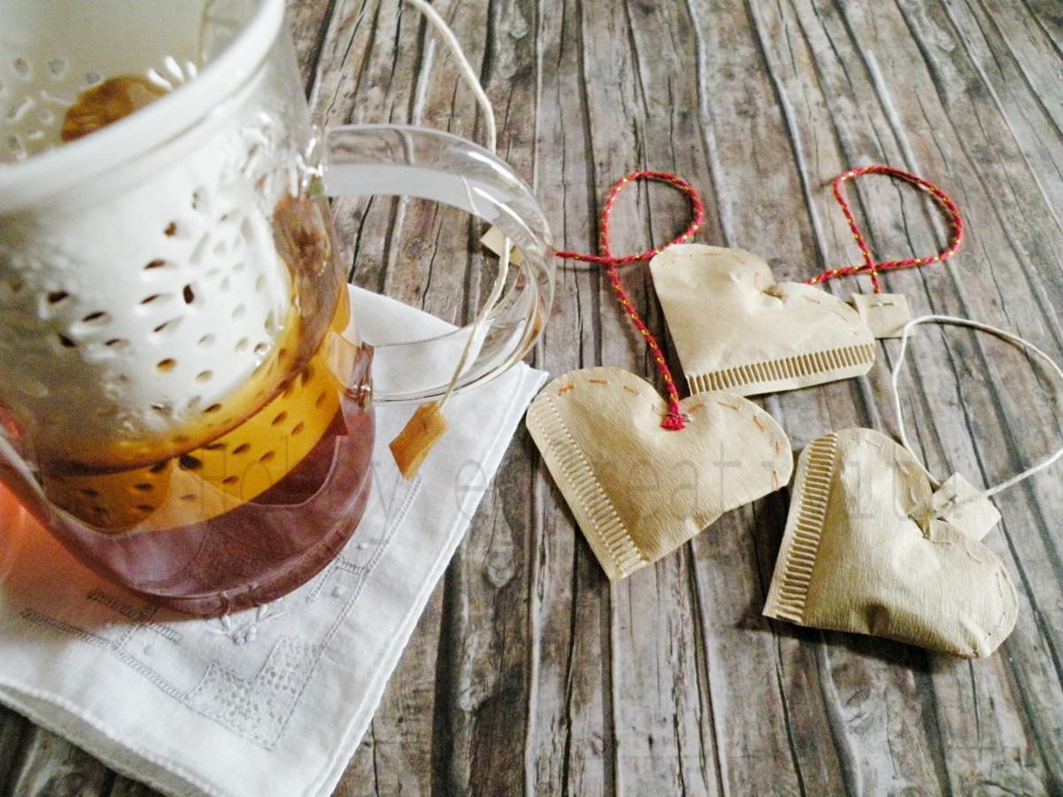 bustine di tè per san valentino