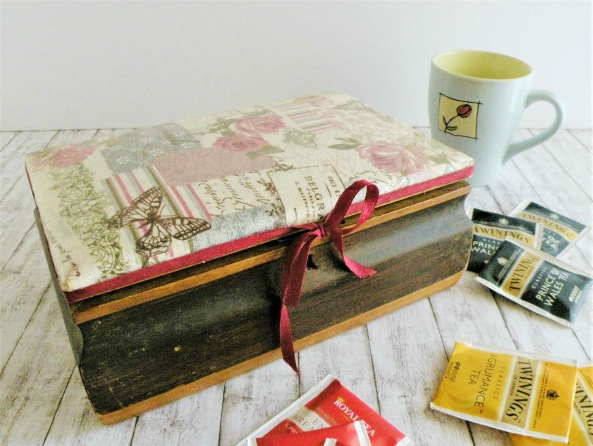 scatola porta tea