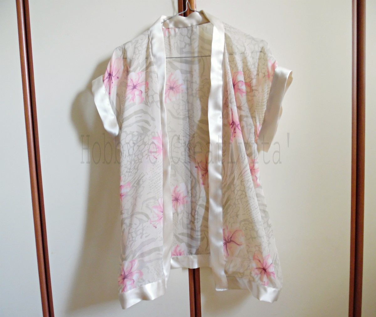giacchina a kimono finita