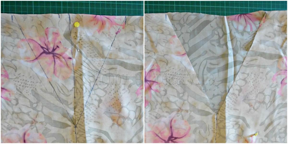 giacchina a kimono scollo