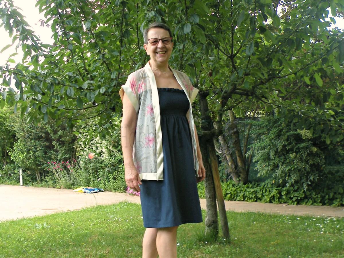 giacchina a kimono senza cartamodello