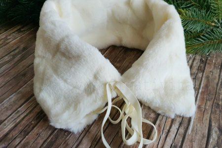 Collo di pelliccia sintetica