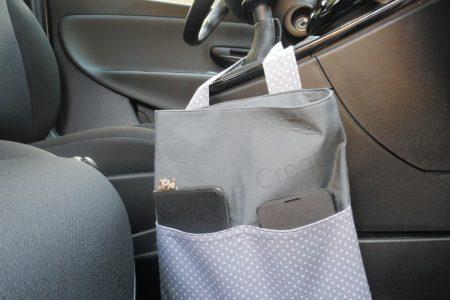 porta rifiuti per auto